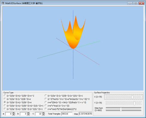 Paraboloid [椭圆抛物面]